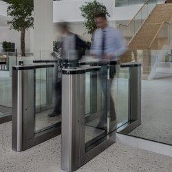 Sistema de control de accesos en empresas